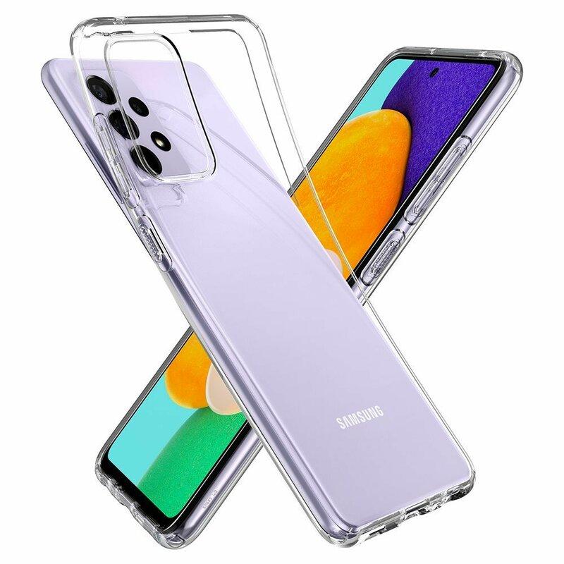 Husa Samsung Galaxy A72 5G Spigen Liquid Crystal - Crystal Clear