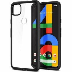 Husa Google Pixel 4a 5G Spigen Ultra Hybrid - Matte Black