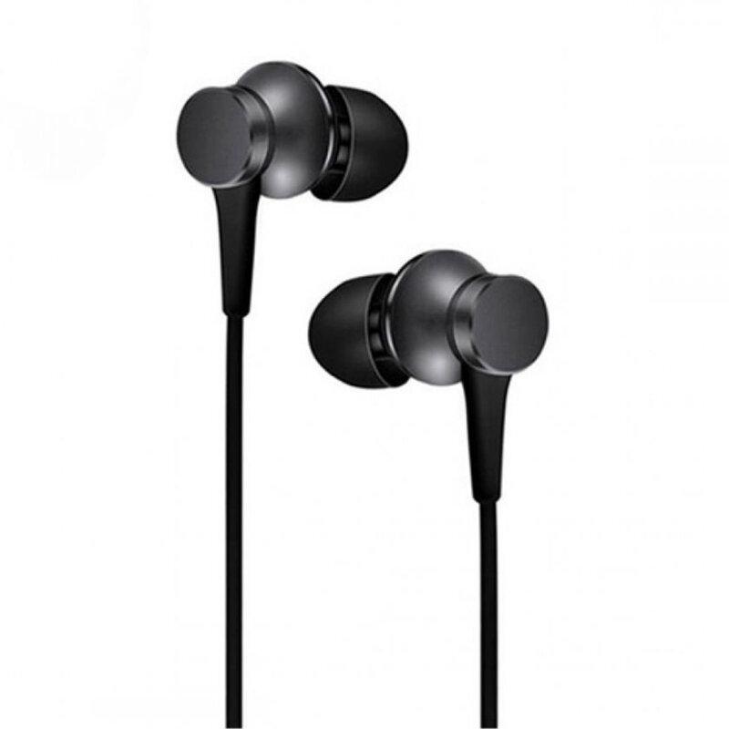 Casti cu fir in-ear Xiaomi Basic, Jack 3.5mm, 1.25m, negru