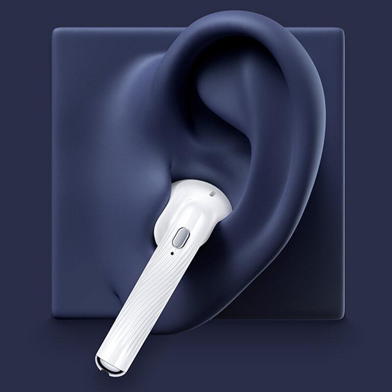 Casti wireless in-ear USAMS, TWS earbuds, Bluetooth, albastru, BHUSY02
