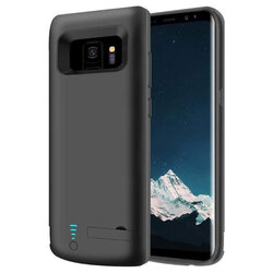 Husa cu baterie Samsung Galaxy S9 Techsuit Power Pro, 5000mAh, negru