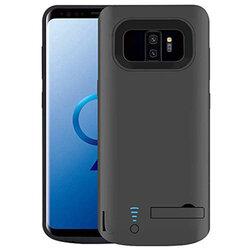 Husa cu baterie Samsung Galaxy S9 Plus Techsuit Power Pro, 6000mAh, negru