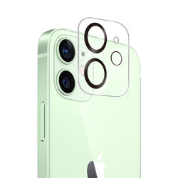 Folie camera iPhone 12 Mocolo Back Lens 9H, negru