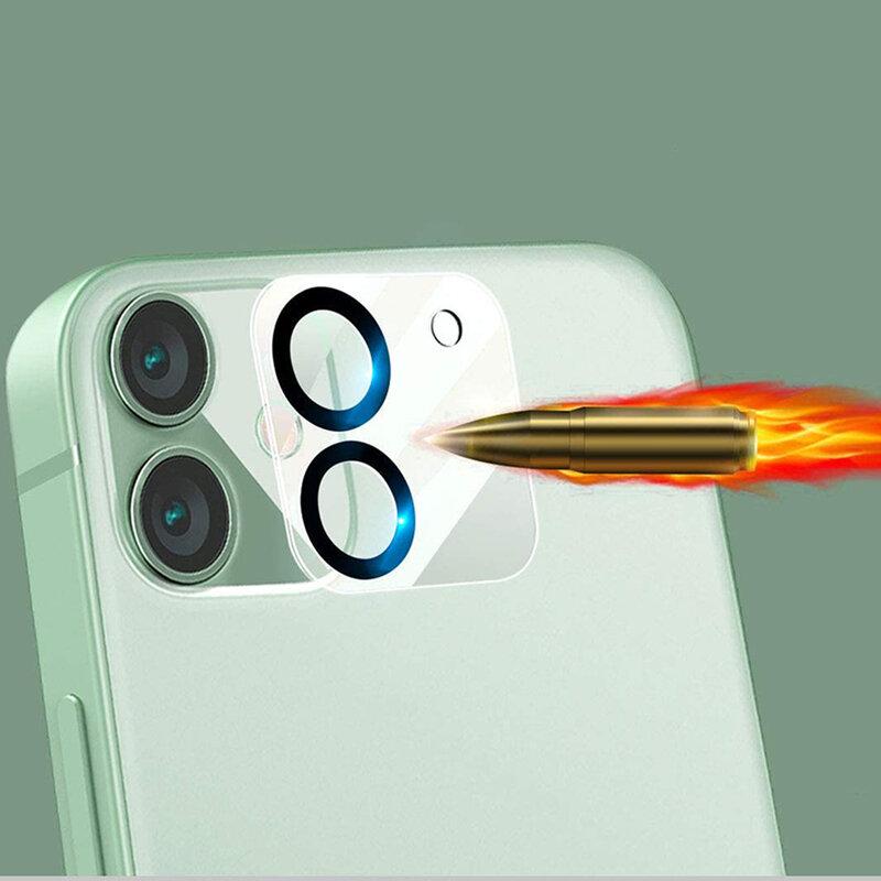 Folie camera iPhone 11 Lito S+ Glass Protector, negru
