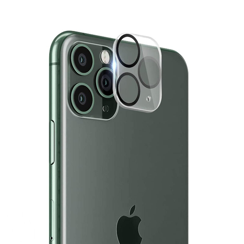 Folie camera iPhone 11 Pro Max Lito S+ Glass Protector, negru