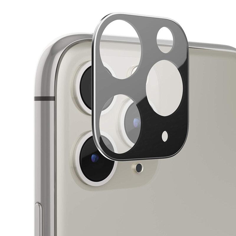 Folie camera iPhone 11 Pro Max Lito S+ Metal Protector, negru