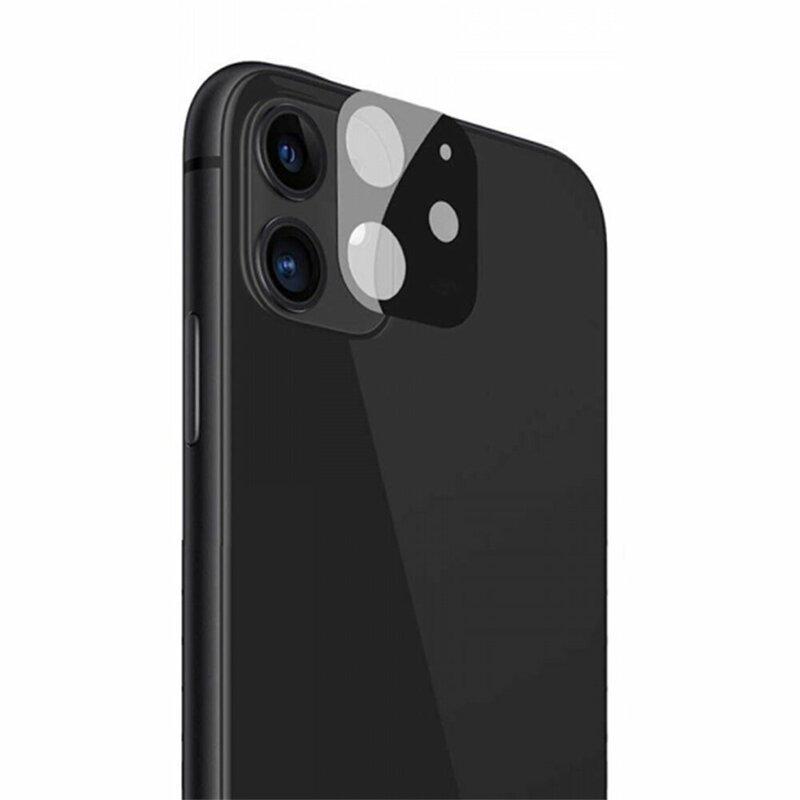 Folie camera iPhone 12 mini Lito S+ Metal Protector, negru