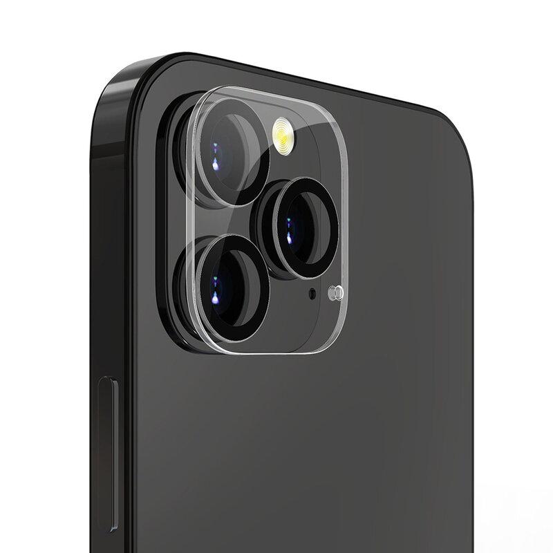 Folie camera iPhone 12 Pro Lito S+ Glass Protector, negru