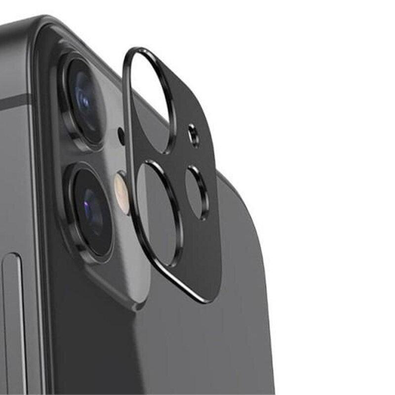 Folie camera iPhone 12 Lito S+ Metal Protector, negru