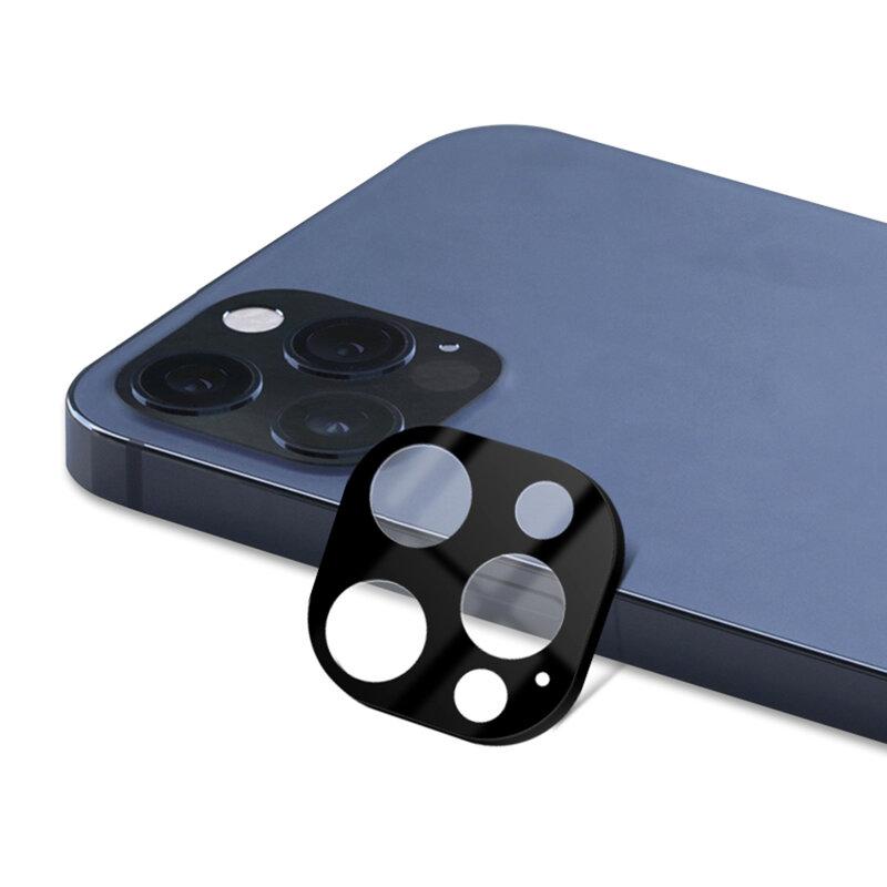 Folie camera iPhone 12 Pro Max Lito S+ Metal Protector, negru