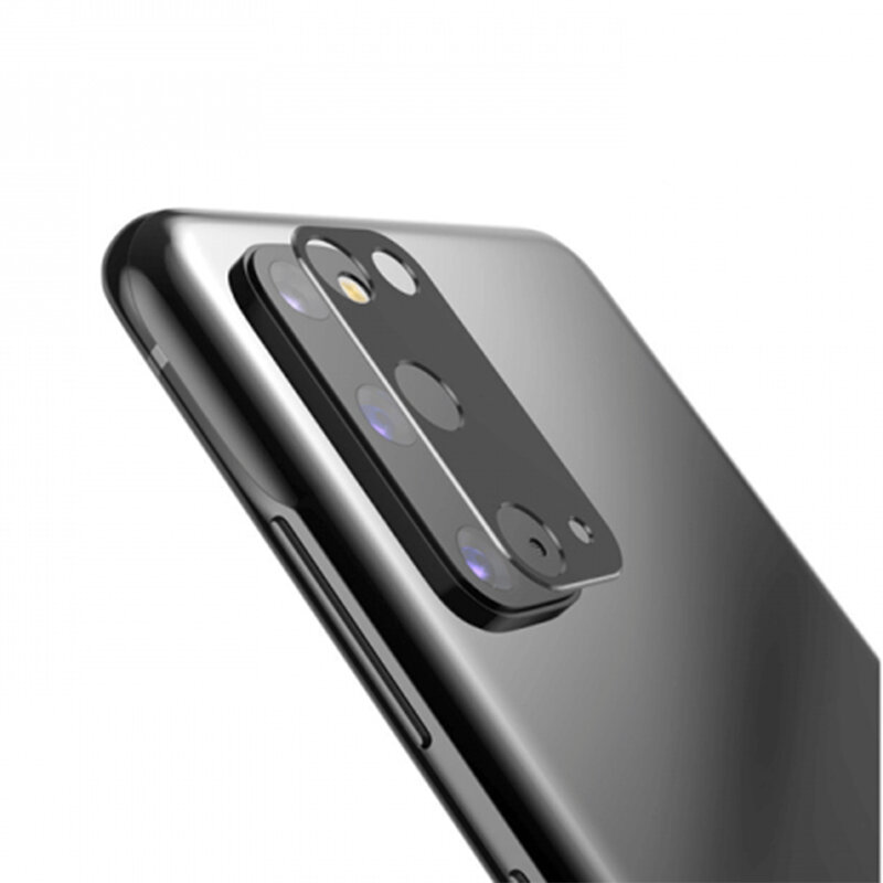 Folie camera Samsung Galaxy S20 5G Lito S+ Metal Protector, negru