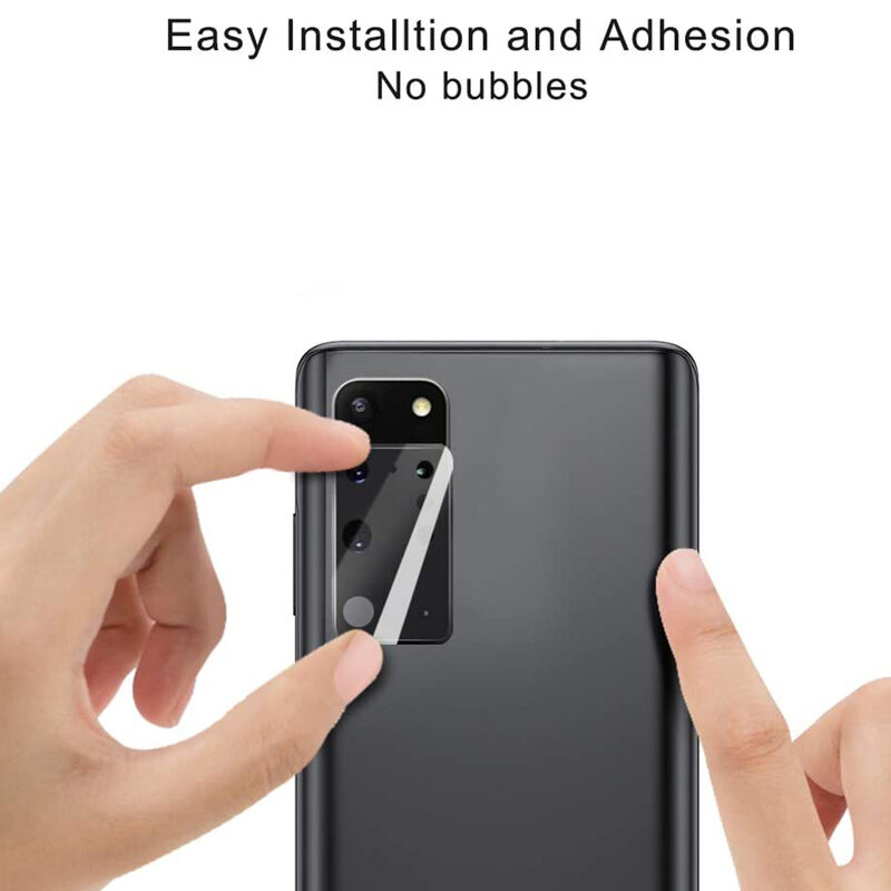 Folie camera Samsung Galaxy S20 Plus 5G Lito S+ Metal Protector, negru