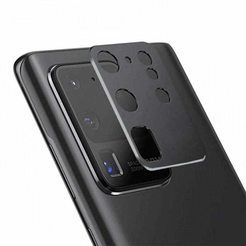 Folie camera Samsung Galaxy S20 Ultra 5G Lito S+ Metal Protector, negru