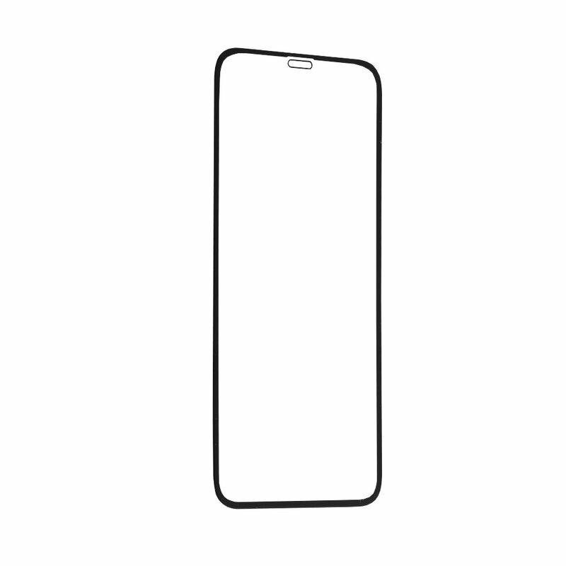 Folie sticla iPhone XS Mocolo 3D Full Glue, negru