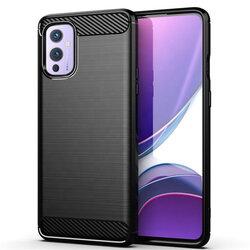 Husa OnePlus 9 TPU Carbon - Negru