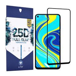 Folie sticla Xiaomi Mi 10T Pro 5G Lito 2.5D Full Glue, negru