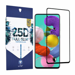 Folie sticla Xiaomi Poco X3 Lito 2.5D Full Glue, negru