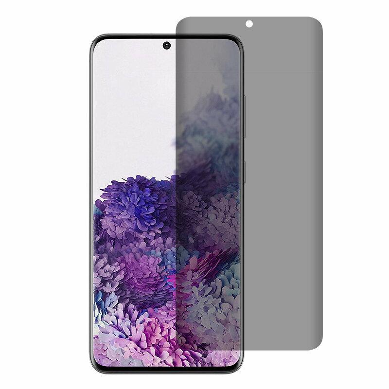 Folie sticla Samsung Galaxy S21 Ultra 5G Lito UV Glue PRIVACY, clear