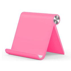 Suport telefon, tableta birou Tech-Protect Z1, stand universal pliabil, roz