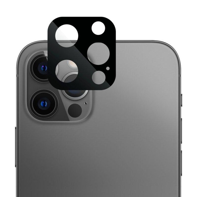 Folie camera iPhone 12 Pro Lito S+ Metal Protector, negru