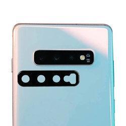 Folie camera Samsung Galaxy S10 Lito S+ Metal Protector, negru