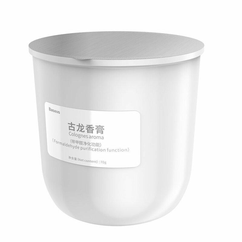 Rezerva odorizant auto Baseus, aroma Cologne, 70g, SUXUN-CL