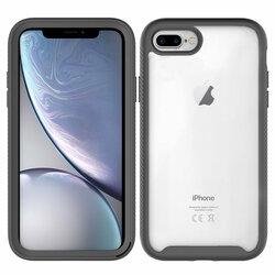 [Pachet 360°] Husa + Folie iPhone 6 Plus / 6s Plus Techsuit Defense, negru