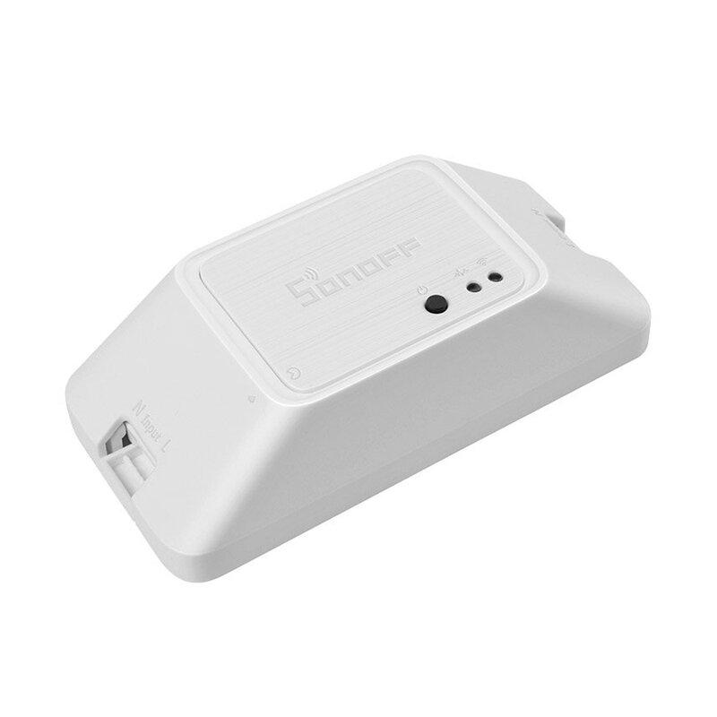 Releu wireless Sonoff Basic R3, Wi-Fi IoT, modul DIY, comutator inteligent 10A, alb