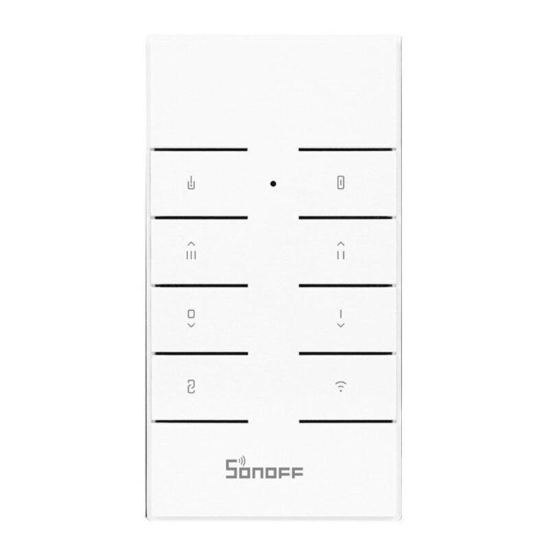Telecomanda smart Wi-Fi Sonoff RM433, 8 canale, RF 433MHz, alb