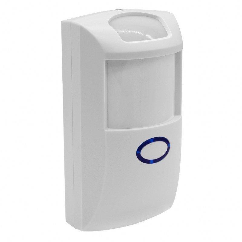 Senzor de miscare wireless Sonoff PIR2, Wi-Fi, 12m, 110 grade, alb