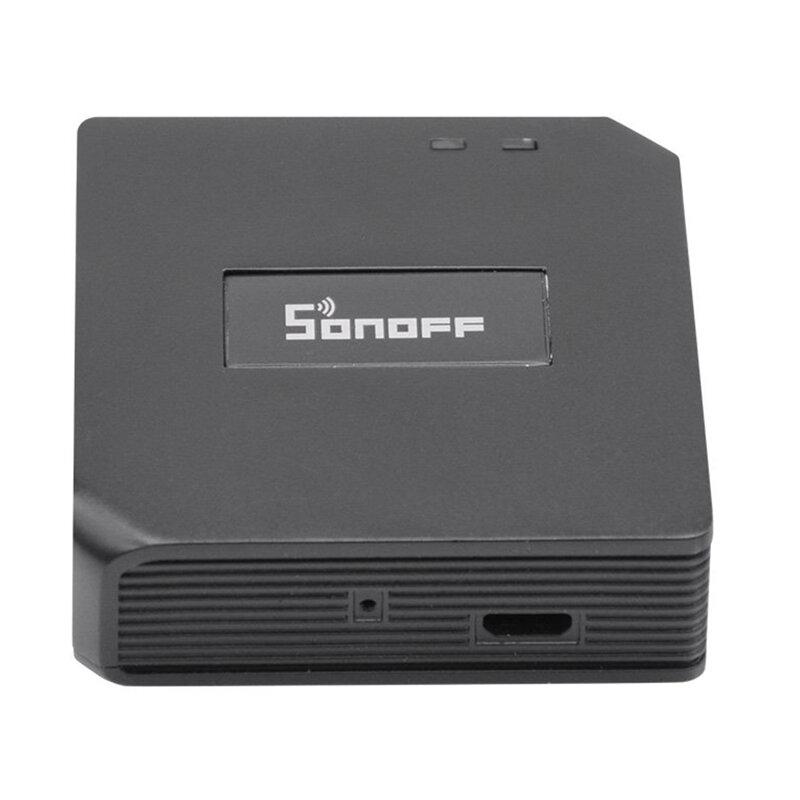 Hub inteligent Sonoff RF Bridge Wi-Fi, sistem wireless smart home, 433 MHz, negru