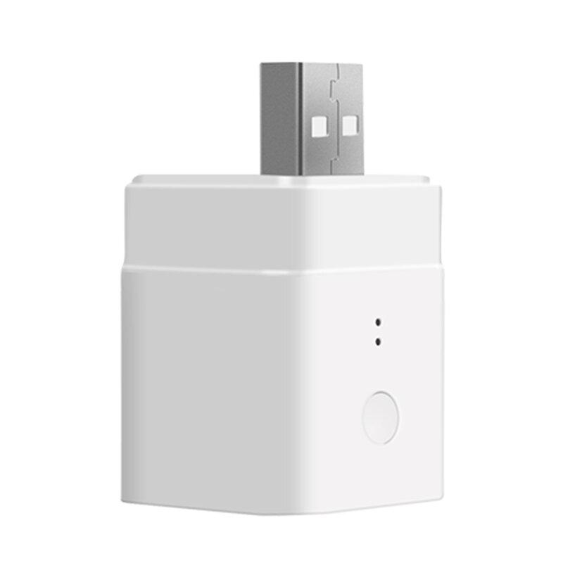 Adaptor USB smart Sonoff Micro, wireless, Wi-Fi, 5V, 2.5A, alb