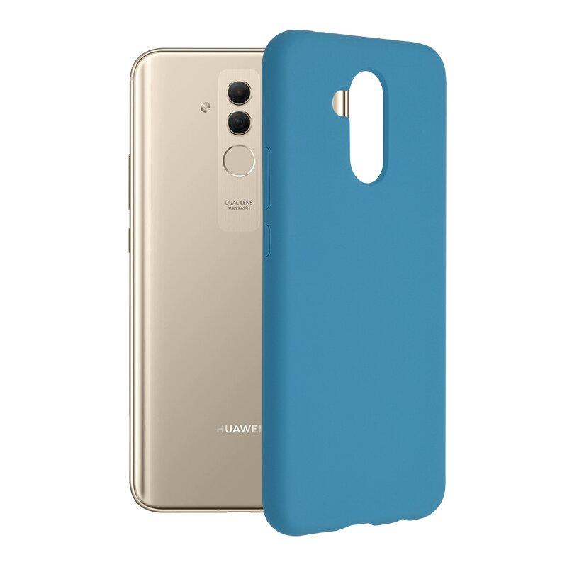 Husa Huawei Mate 20 Lite Techsuit Soft Edge Silicone, albastru
