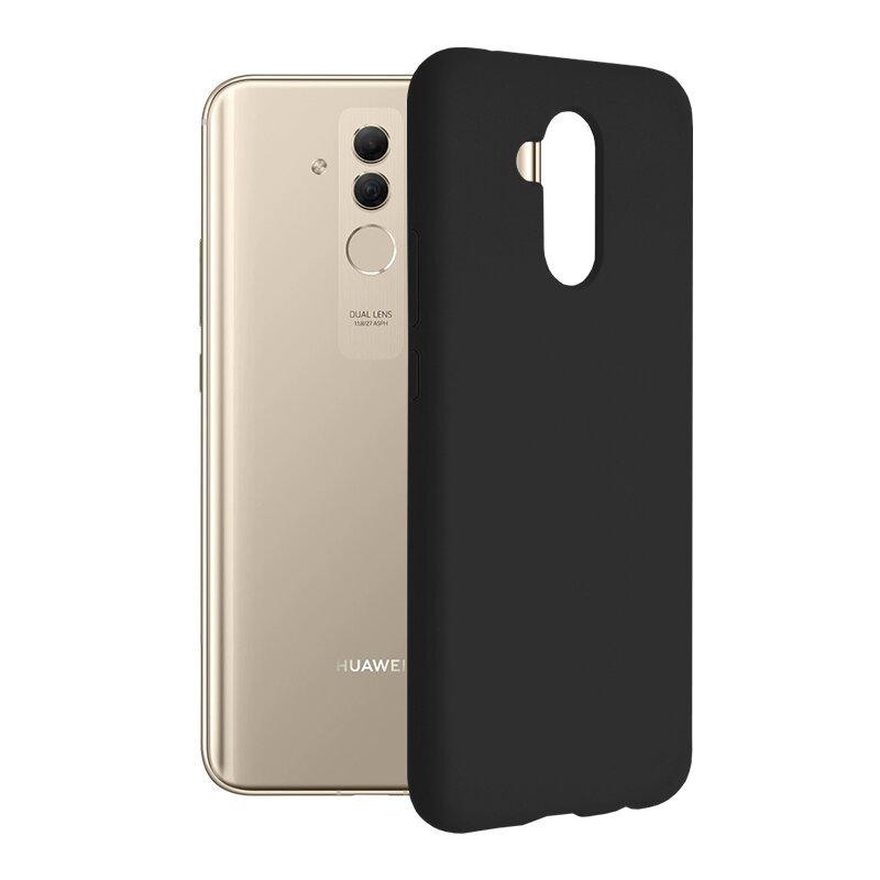 Husa Huawei Mate 20 Lite Techsuit Soft Edge Silicone, negru