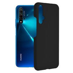 Husa Huawei Nova 5T Techsuit Soft Edge Silicone, negru