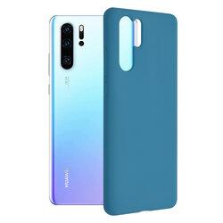 Husa Huawei P30 Pro New Edition Techsuit Soft Edge Silicone, albastru