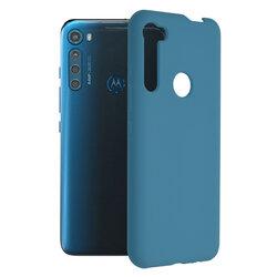 Husa Motorola One Fusion Plus Techsuit Soft Edge Silicone, albastru