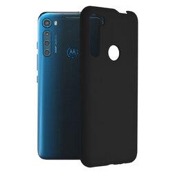 Husa Motorola One Fusion Plus Techsuit Soft Edge Silicone, negru