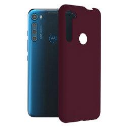 Husa Motorola One Fusion Plus Techsuit Soft Edge Silicone, violet