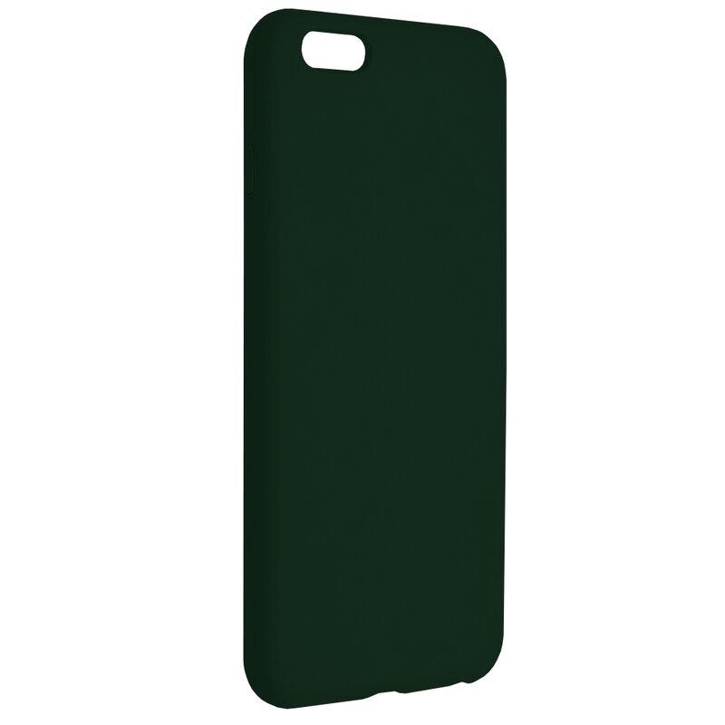 Husa iPhone 6 Plus / 6s Plus Techsuit Soft Edge Silicone, verde inchis