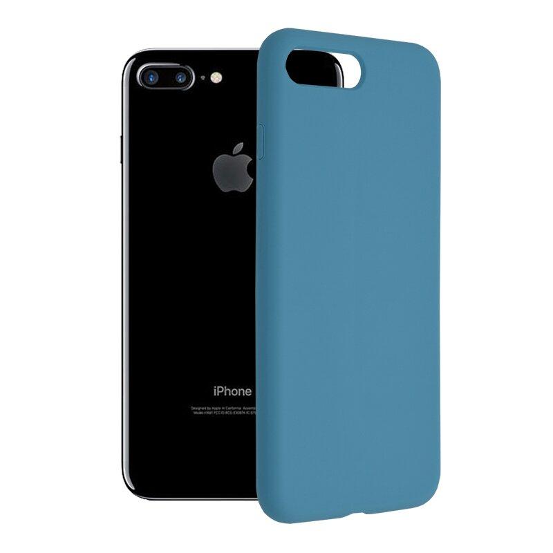 Husa iPhone 7 Plus Techsuit Soft Edge Silicone, albastru