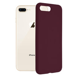 Husa iPhone 8 Plus Techsuit Soft Edge Silicone, violet
