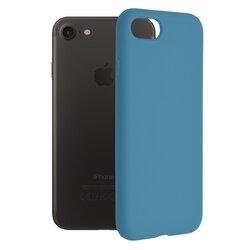 Husa iPhone 8 Techsuit Soft Edge Silicone, albastru