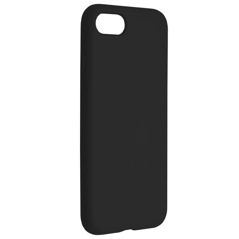 Husa iPhone 8 Techsuit Soft Edge Silicone, negru