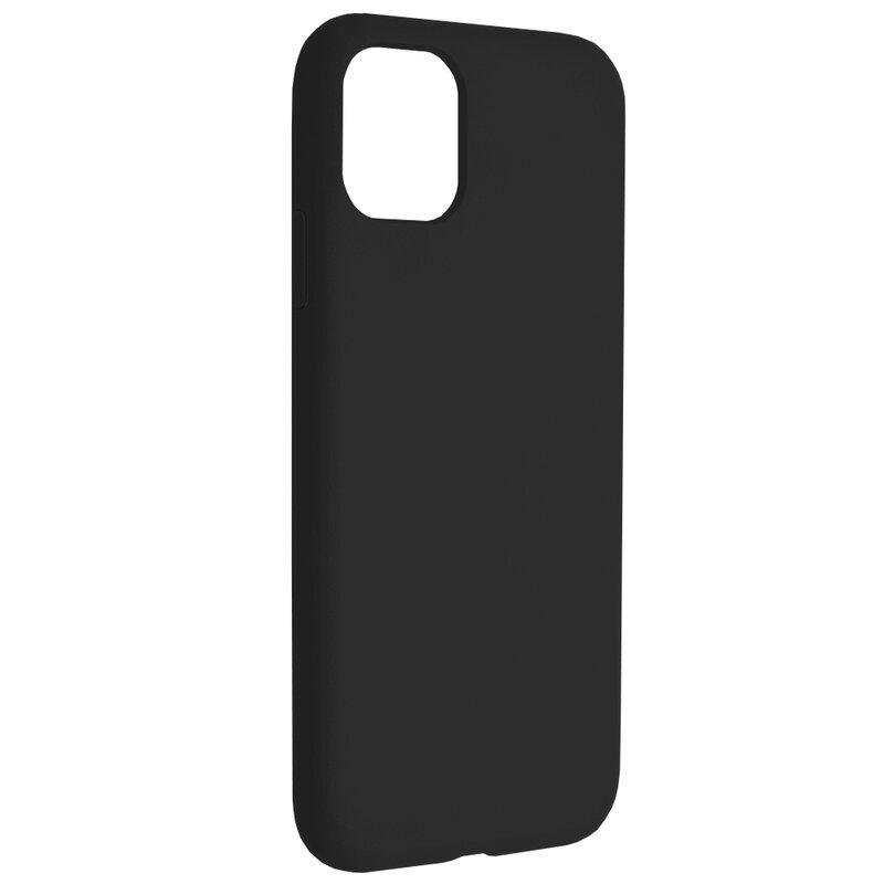 Husa iPhone 11 Techsuit Soft Edge Silicone, negru