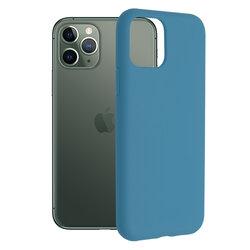 Husa iPhone 11 Pro Techsuit Soft Edge Silicone, albastru