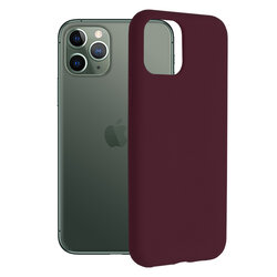 Husa iPhone 11 Pro Techsuit Soft Edge Silicone, violet