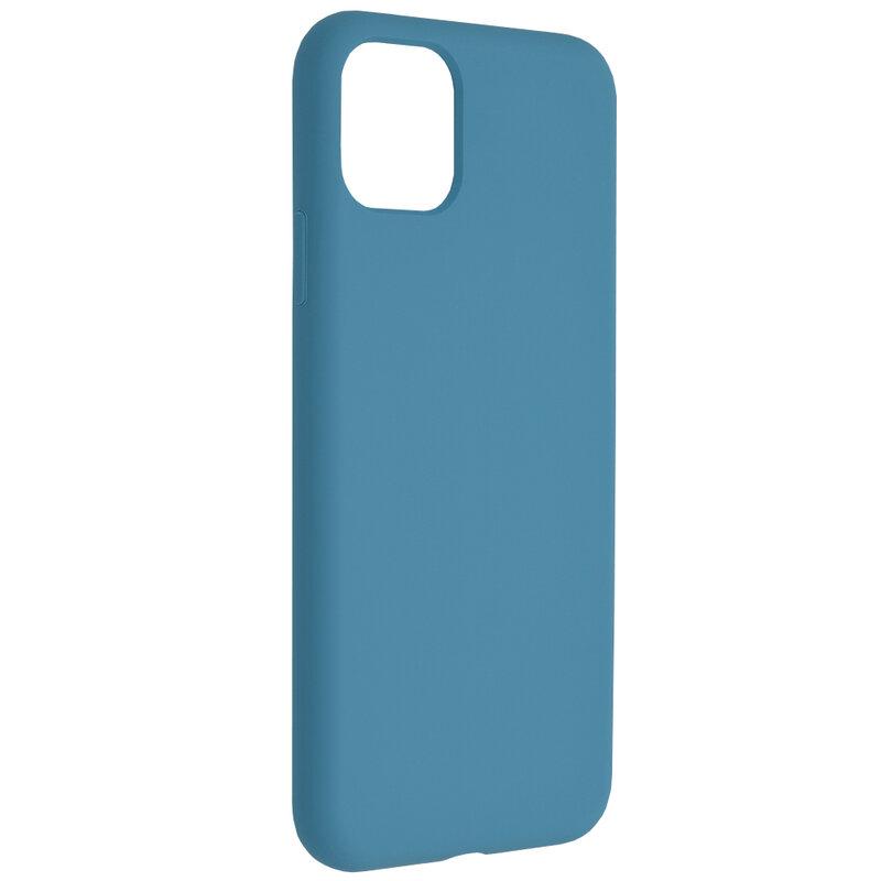 Husa iPhone 11 Pro Max Techsuit Soft Edge Silicone, albastru