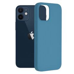 Husa iPhone 12 mini Techsuit Soft Edge Silicone, albastru