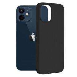 Husa iPhone 12 mini Techsuit Soft Edge Silicone, negru
